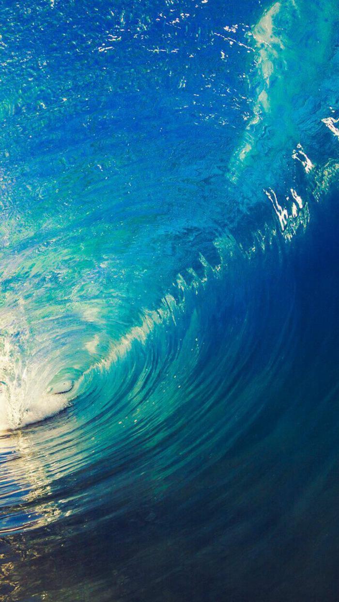 Ecran d accueil iphone marbre rose quelle couleur choisir l'océan vague surf fond d ecran