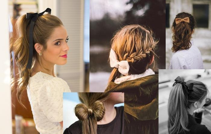 comment transformer les coiffures cheveux longs avec un ruban de pour afficher un look romantique et doux