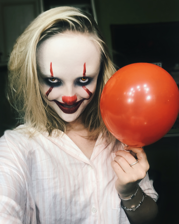 maquillage film ça clown méchant