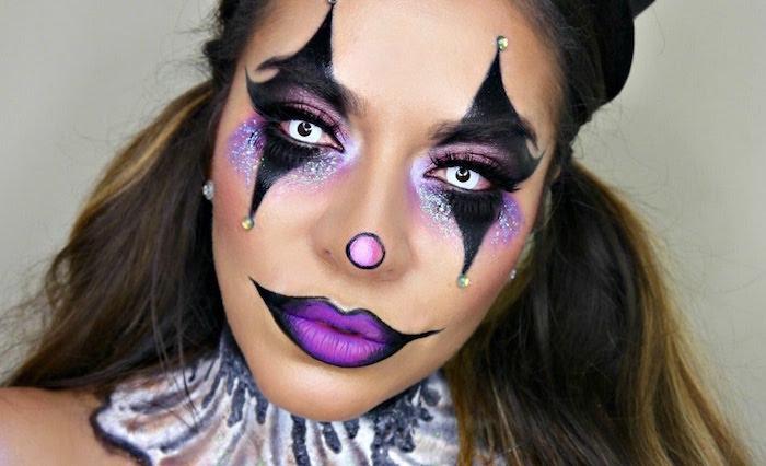 comment se maquiller en clown classe femme fete