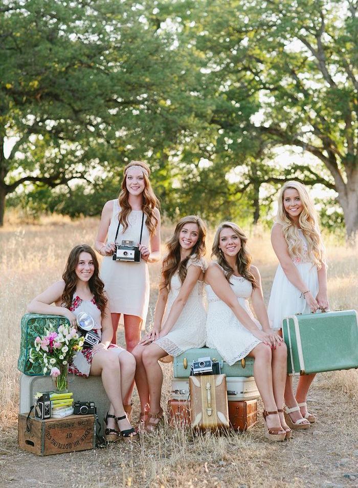 photo de meilleures amies swag mariage demoiselles honneur