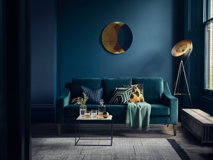 Best Salon Bleu Petrole Et Gris Gallery - lalawgroup.us ...