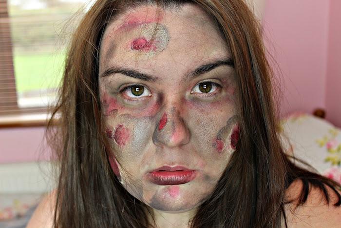 déguisement zombie femme et maquillage mort vivant