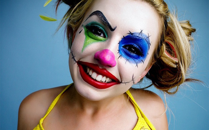 comment faire un maquillage de clown facile