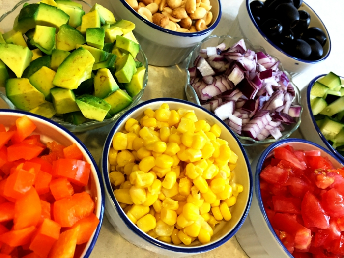 1001 id es de salade compos e originale saine et d licieuse - Salade d ete originale et facile ...