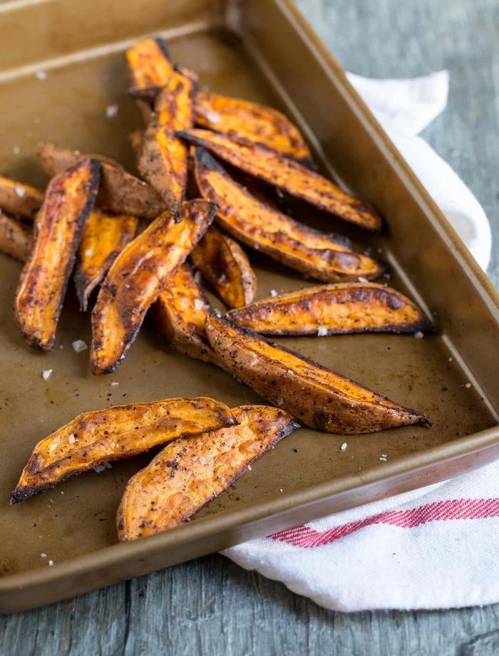 organiser un brunch d'automne une recette octobre facile de patates douces épicées au four
