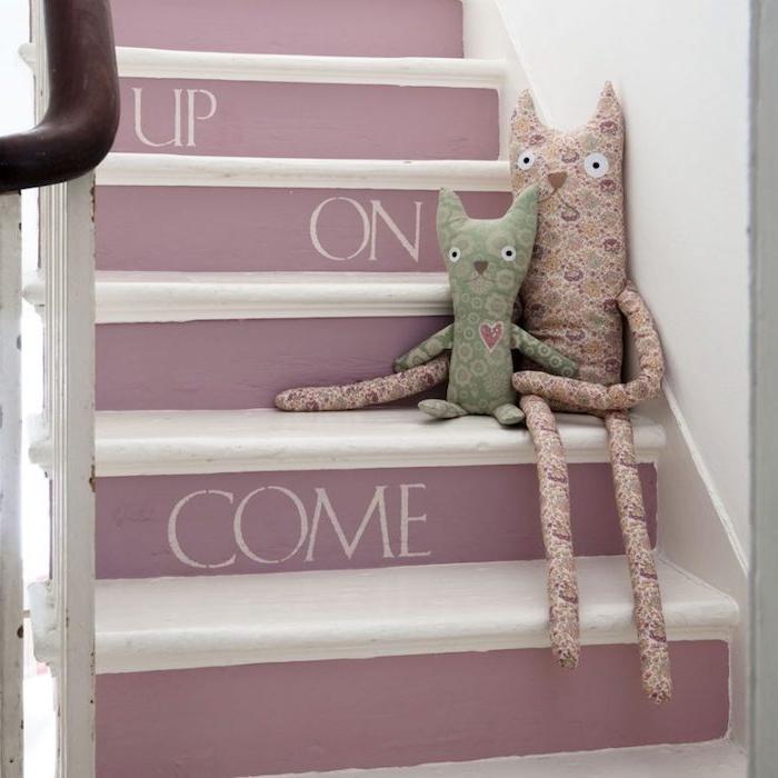 1001 techniques et id es pour relooker un escalier moindre co t. Black Bedroom Furniture Sets. Home Design Ideas