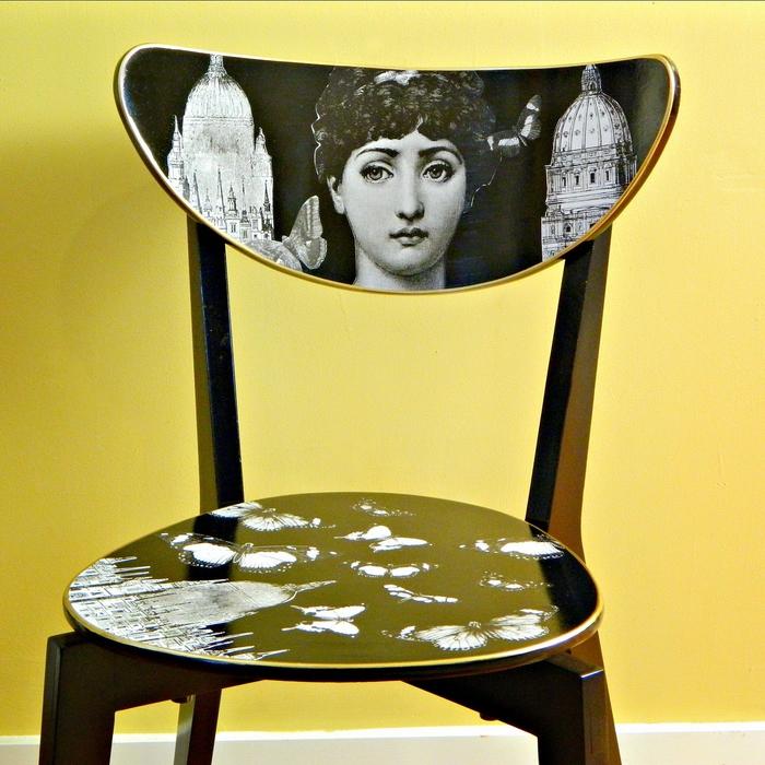 une chaise relookée