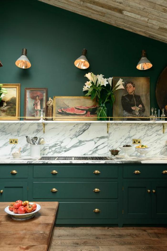 1001 id es pour d cider quelle couleur pour les murs d - Quelle peinture utiliser pour repeindre un meuble en bois ...
