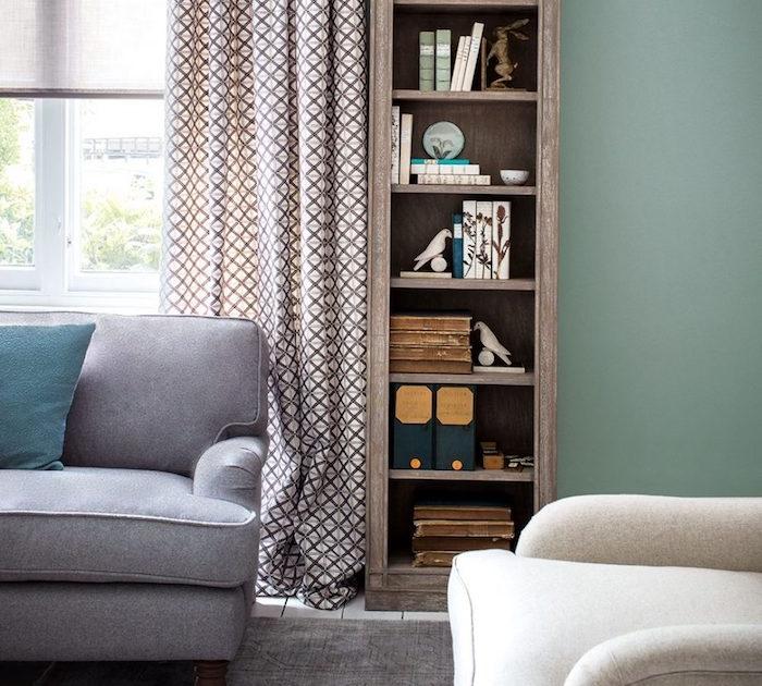 plus de 70 exemples d co pour adopter l ind modable vert c ladon dans son int rieur obsigen. Black Bedroom Furniture Sets. Home Design Ideas
