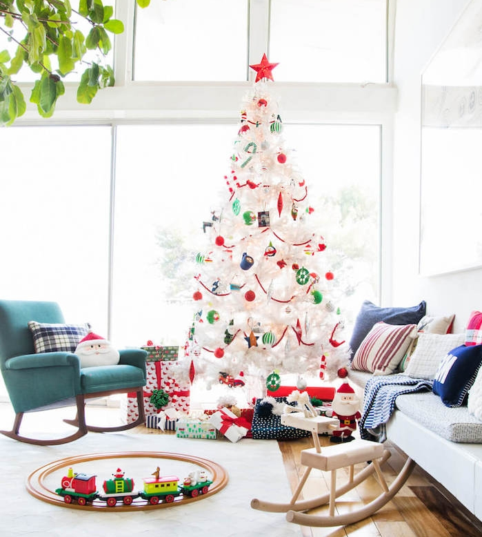 sapin noel blanc perfect witte kerstboom with sapin noel blanc top sapins noel blancor vert. Black Bedroom Furniture Sets. Home Design Ideas