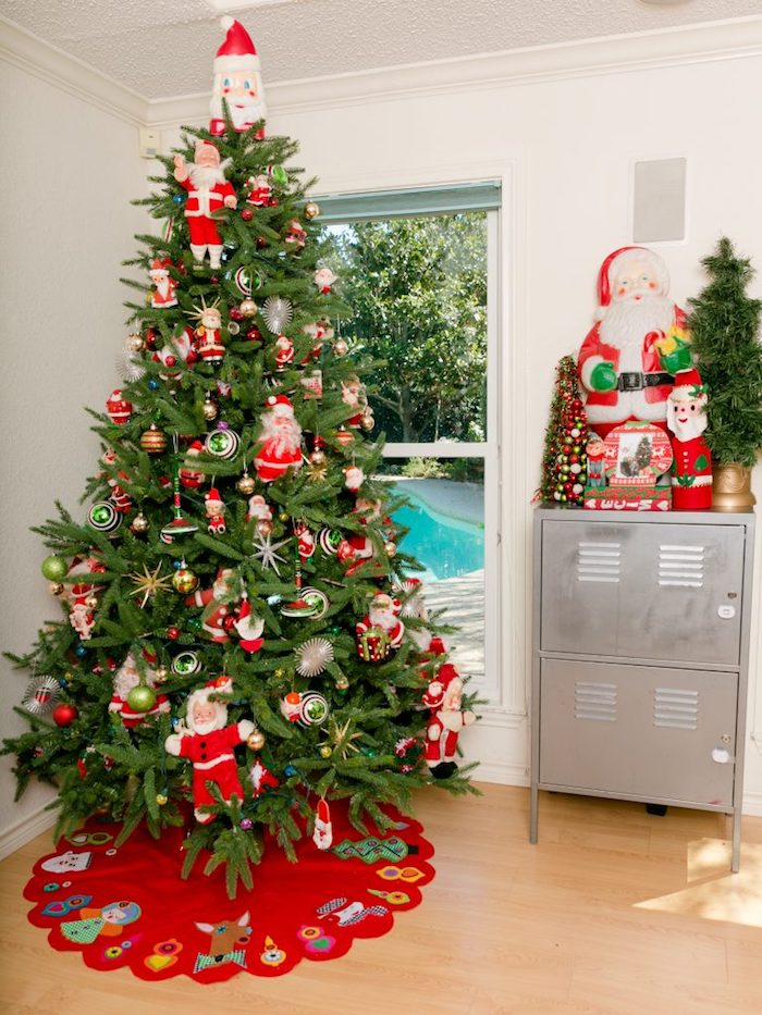 Comment d corer un sapin de no l plus de 80 conseils for Decoration sapin de noel rouge et blanc