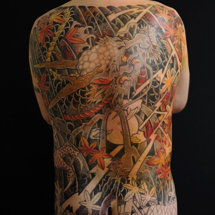 Dessin Dragon Japonais ▷ 1001+ idées | tatouage dragon japonais – mythologie et puissance