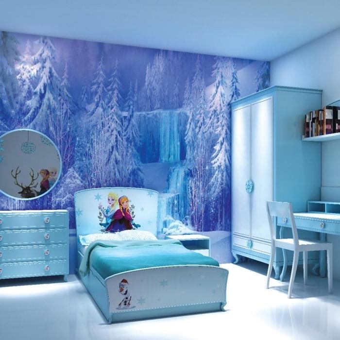 1001 astuces et conseils pour cr er la chambre reine des neiges parfaite Chambre reine des neiges