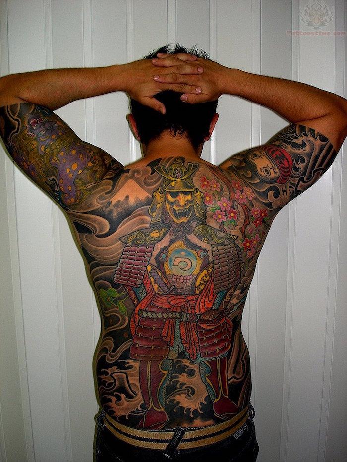 tattoo dos entier tatouage japonais