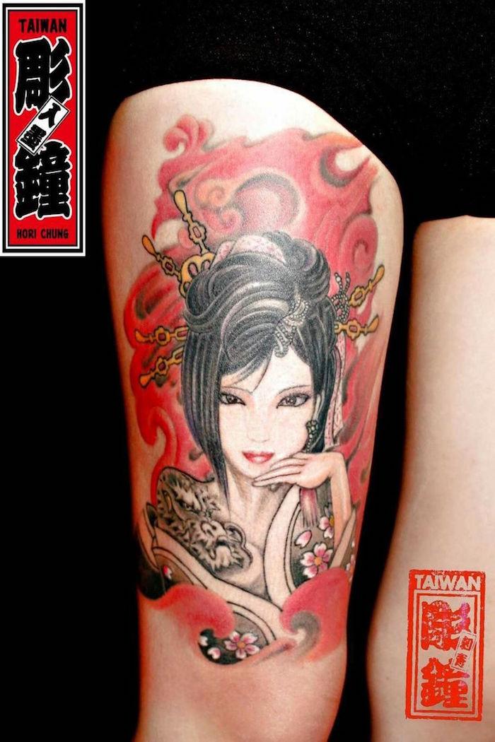 ▷ 1001+ idées | tatouage geisha – plaisir et tradition en 40 photos