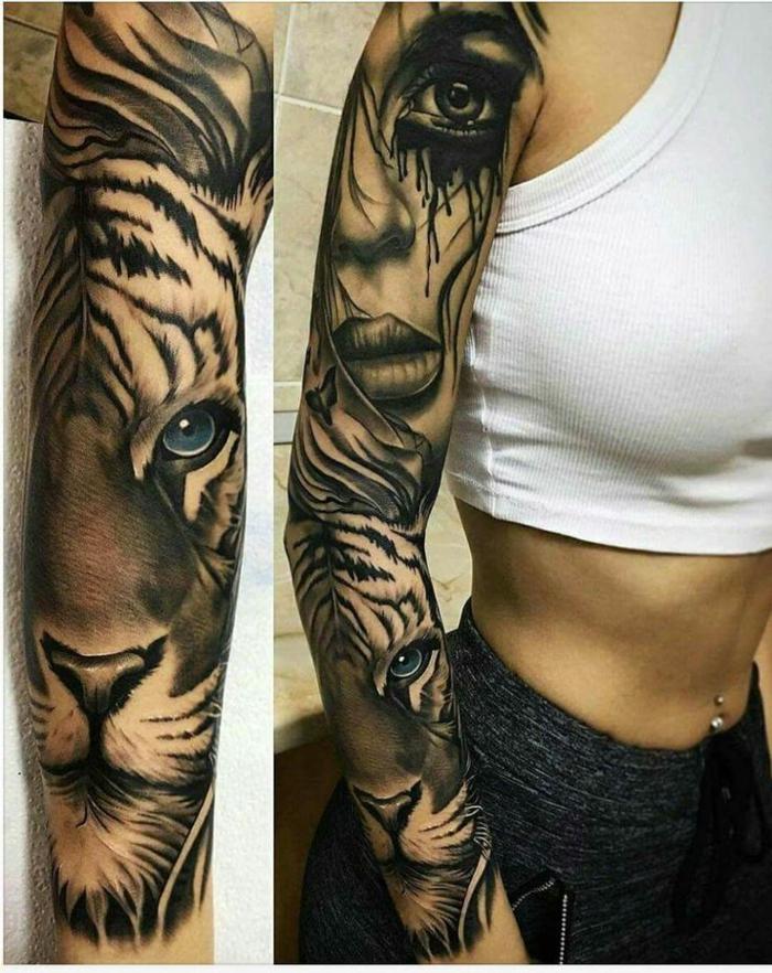 Bien connu ▷ 1001 + idées de designs uniques de tatouage manchette YM44