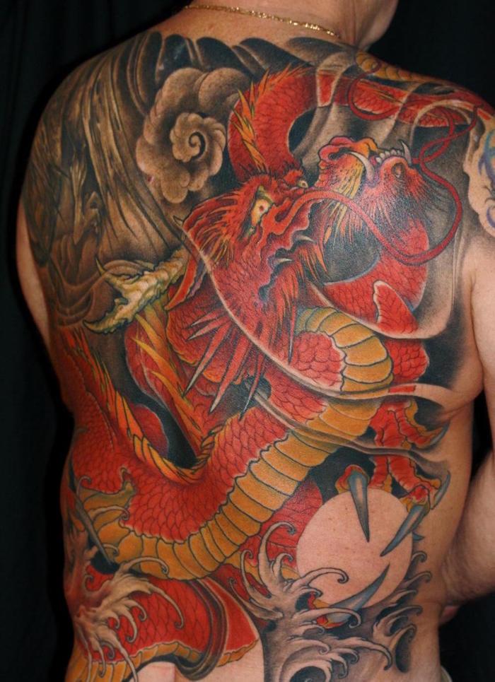 tatouage japonais femme signification dragon japon tattoo