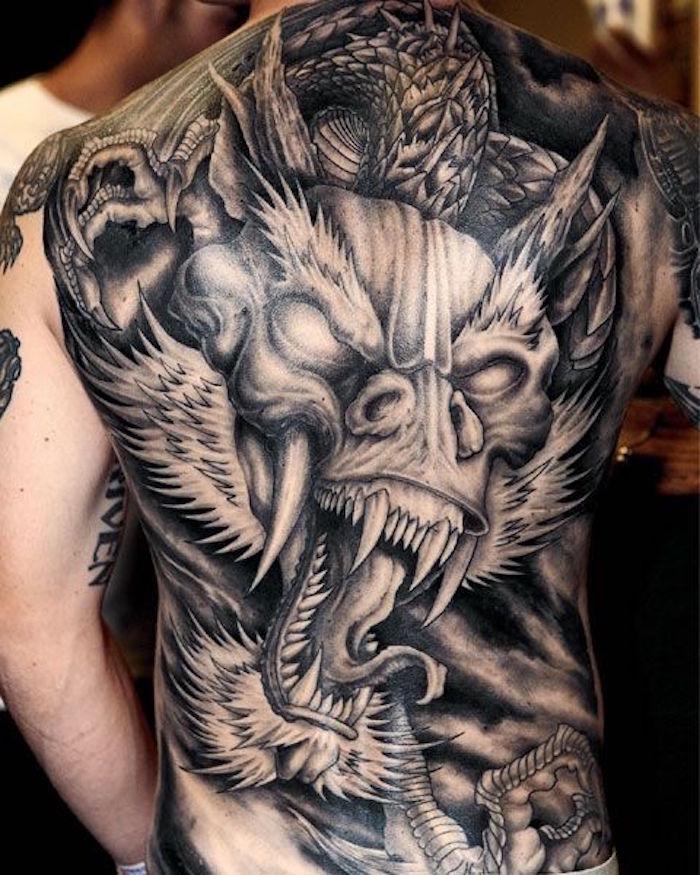 Dragon Tribal Tatouage ▷ 1001+ idées | tatouage dragon japonais – mythologie et puissance