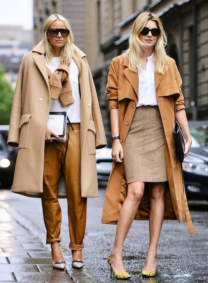 comment porter le manteau long femme de coupe trench pour un look sophistiqué et chic