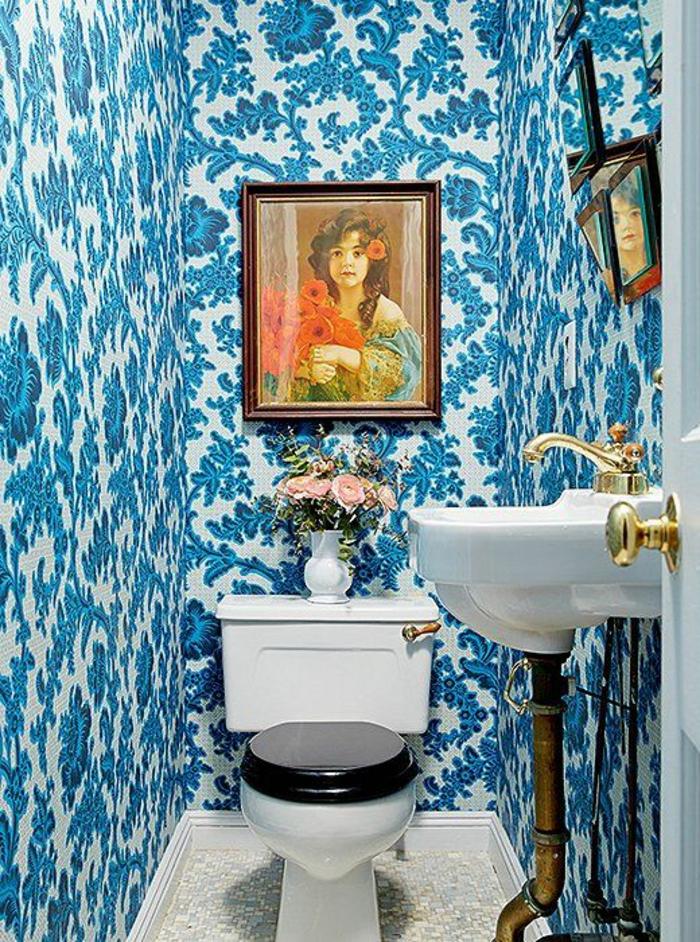 1001 id es pour un papier peint trompe l 39 il les d cos qui produisent des grands effets. Black Bedroom Furniture Sets. Home Design Ideas