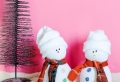 Le bonhomme de neige en chaussette – 90 tutoriels et modèles incroyables