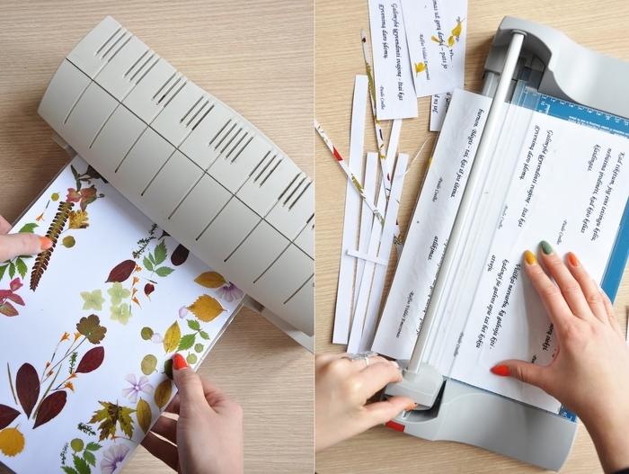 activité manuelle printemps sur thème nature et littérature pour réaliser des marque-pages à design original avec fleurs séchées et citations inspirantes