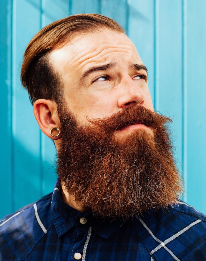 comment se tailler la longue barbe 2 mois homme roux moustache movember coupe hipster