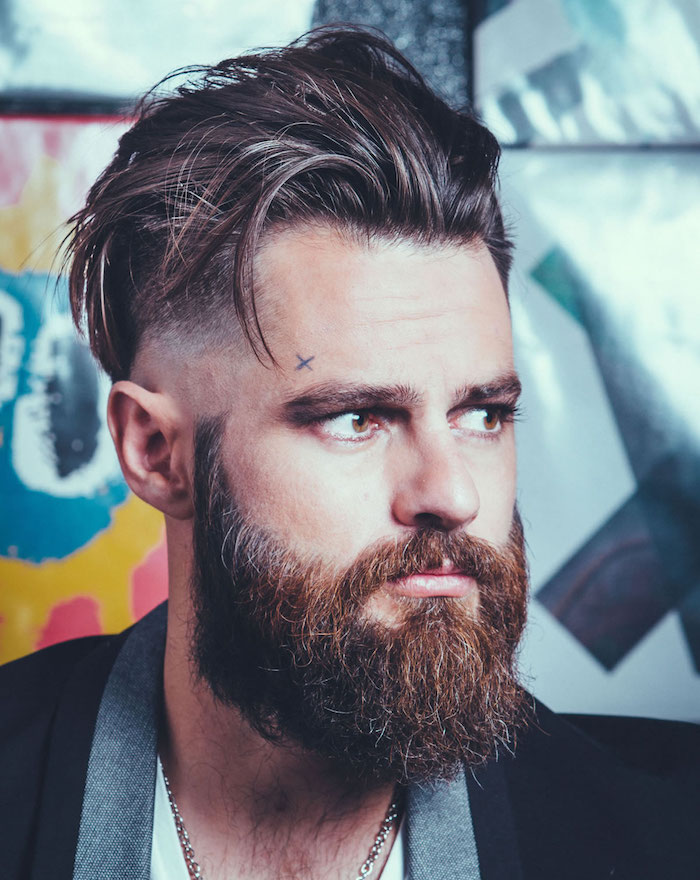 bien taillée taillage barbe comment se tailler coupe hipster degradé