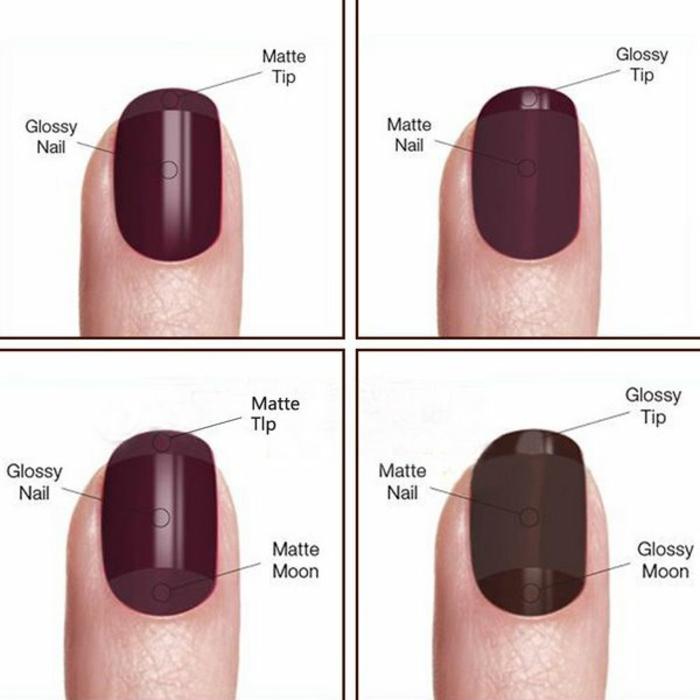 Nail art matte comment faire du nail art matte vernis rouge matte et gloss