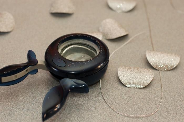 guirlande magic, cutter circulaire pour découper des cercles en papier et créer une guirlande décorative pour fête