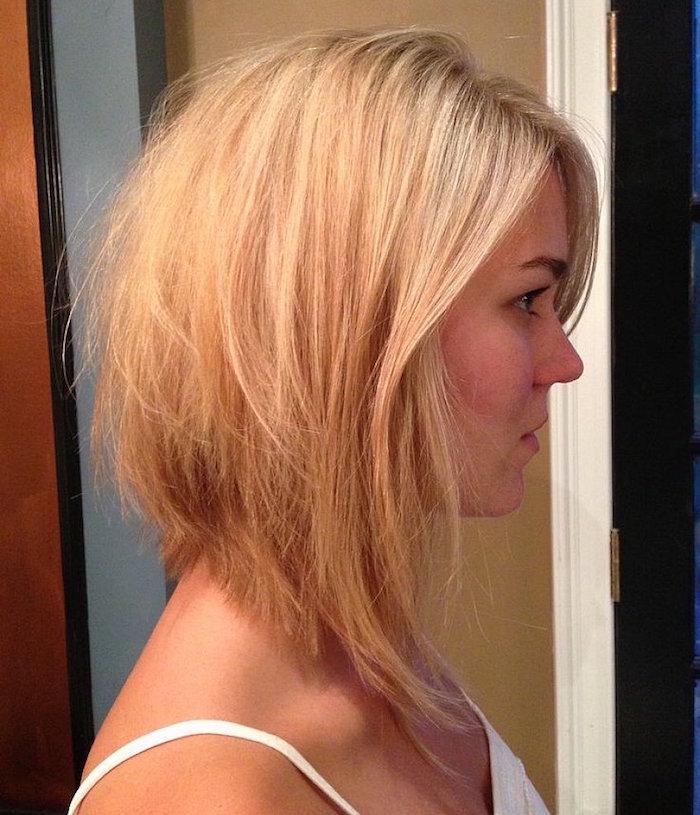 carre long plongeant femme couleur blond venitien orange carotte