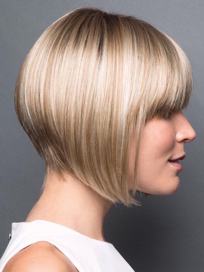 1001 Idées Carré Plongeant Blond La Tête La Première