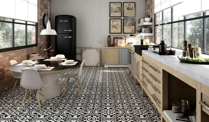 carreaux de ciment beige gallery of vintage carrelage imitation carreaux de ciment x cm c. Black Bedroom Furniture Sets. Home Design Ideas
