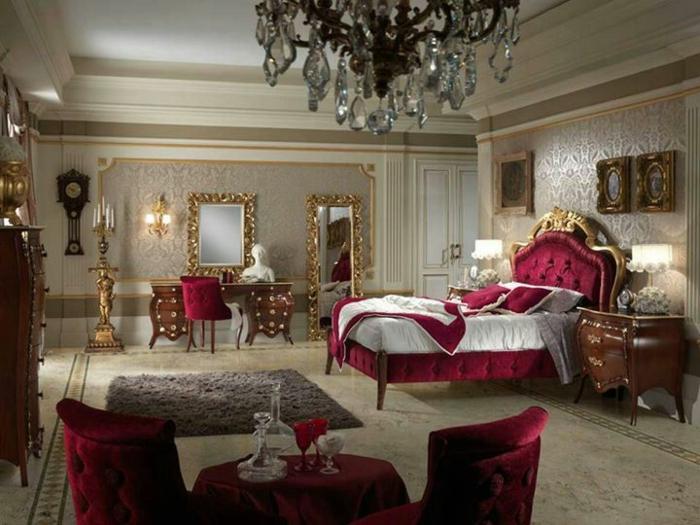 chambre baroque rose et noir amazing chambre a coucher. Black Bedroom Furniture Sets. Home Design Ideas