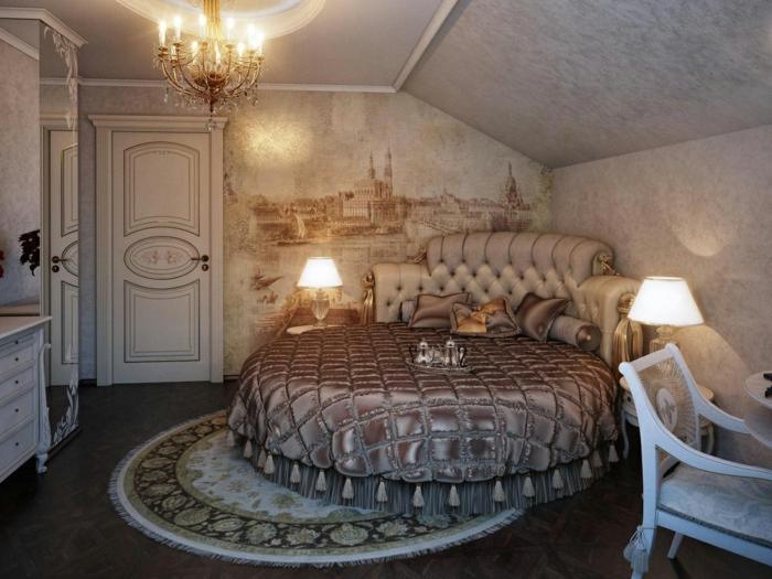1001 id es magnifiques pour votre chambre baroque for Lit moderne 2017