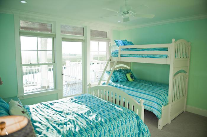 peindre chambre pour enfant couleurs calme