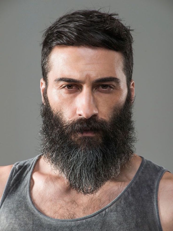 tendance se tailler la barbe coupe hipster naturel style bucheron