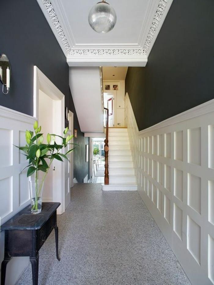 Beautiful peindre un long couloir photos - Quelle couleur peindre un couloir ...