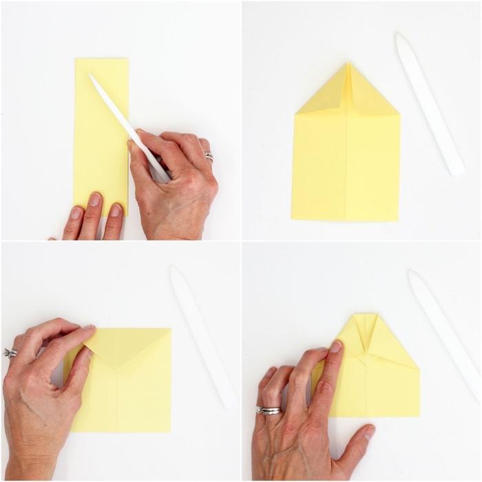 tuto de pliage en origami pour faire des avions en papier facile et en décorer un mobilier diy avec