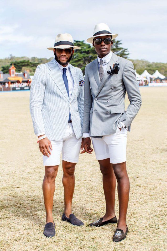s habiller pour un mariage été costume short homme gris