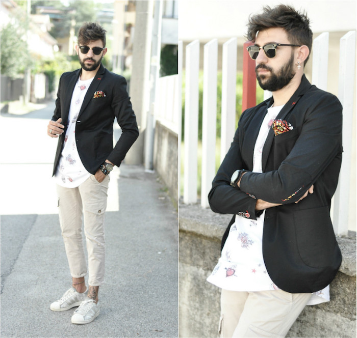 look mariage homme décontracté hipster