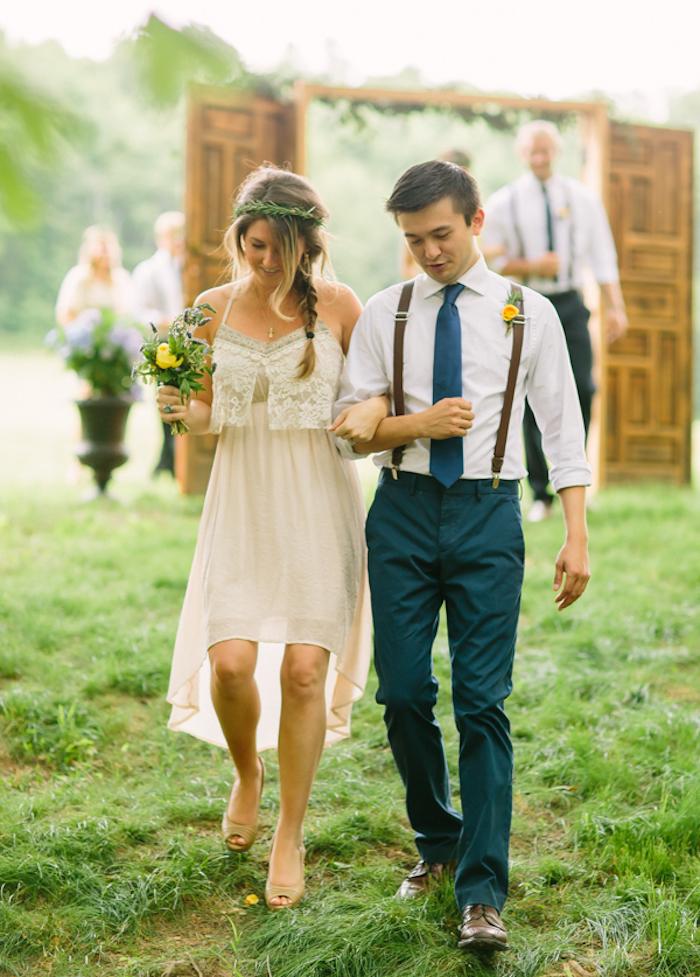 costume pour mariage costumes homme tenue invité vert bretelles
