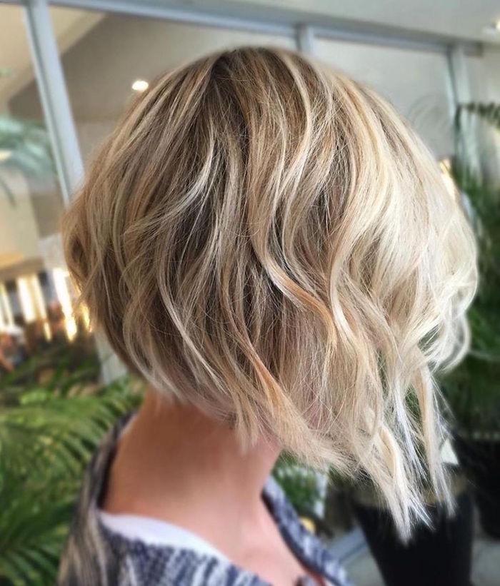 Carre Plongeant Degrade Coupe De Cheveux Femme Carre | Coiffures Cheveux Longs