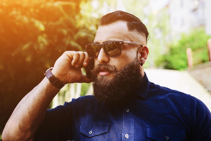 comment tailler barbe hipster et coupe cheveux homme tendance