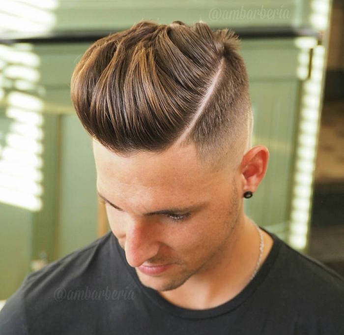 dégradé américain homme coupe de cheveux dégradé