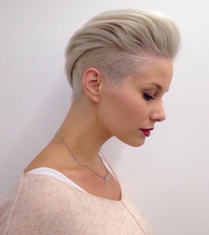 Coupe courte femme cheveux fins 2019