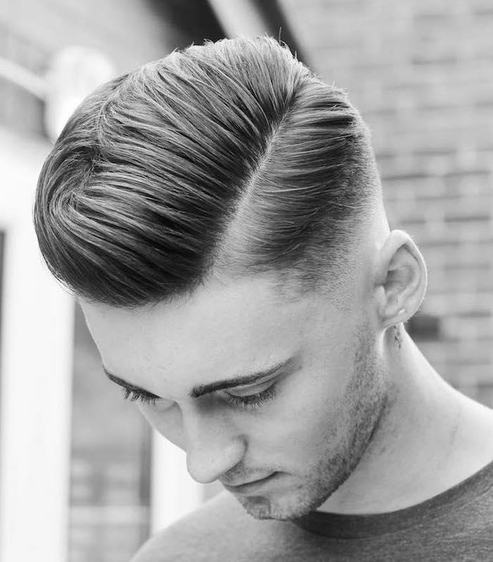 coupe de cheveux hipster année 50 homme rétro