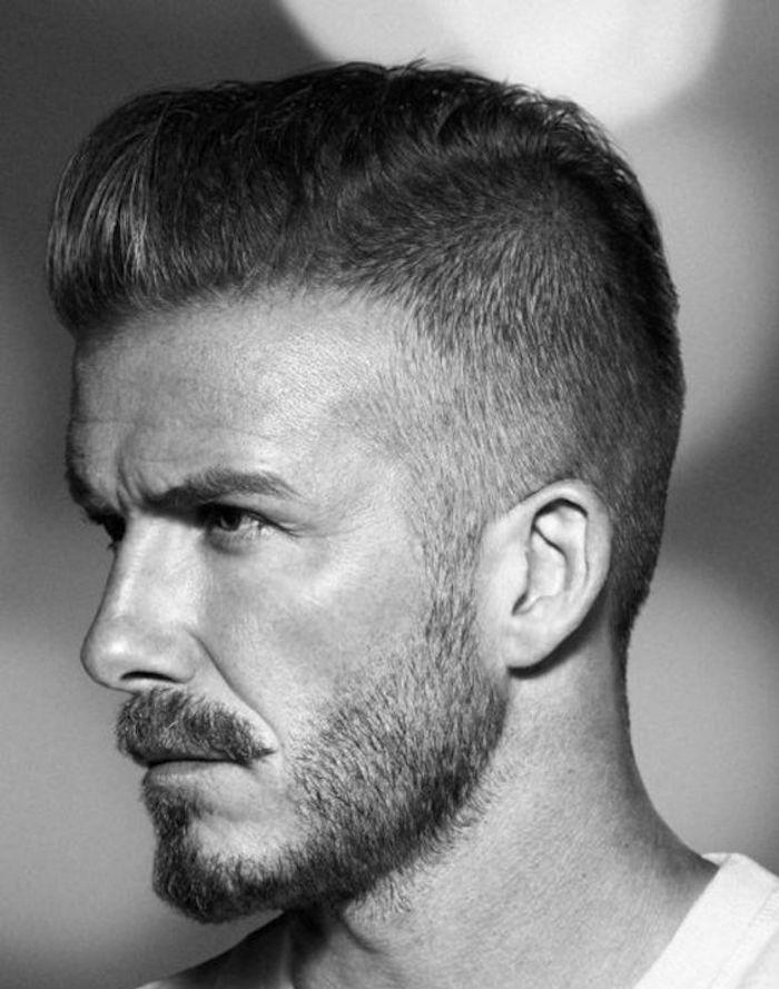 comment avoir la coiffure de david beckham en dégradé progressif