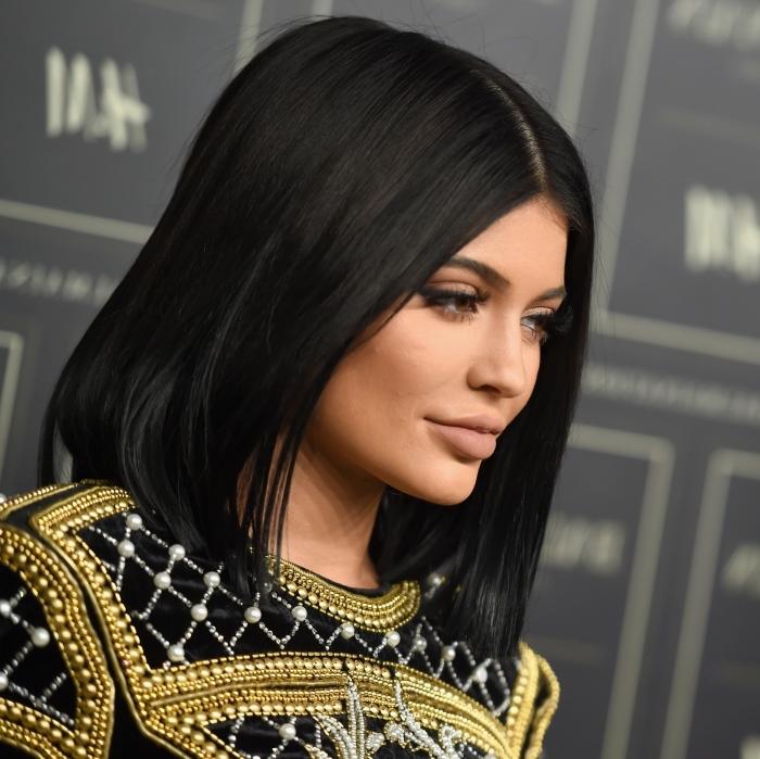 coupe cheveux carre noir